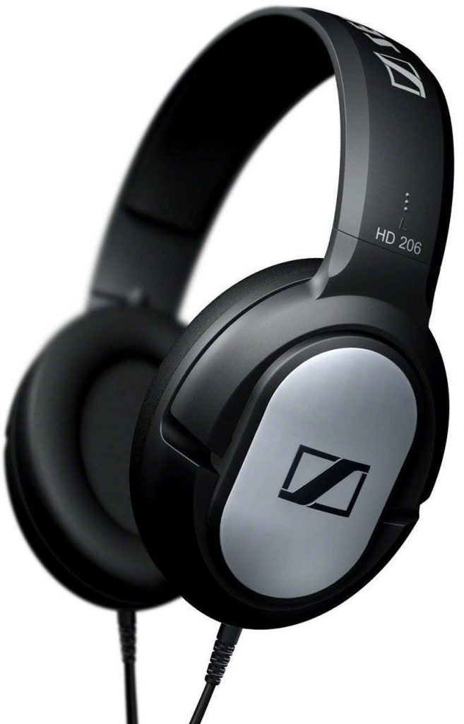 Sennheiser HD 206 Over Ear Headphone