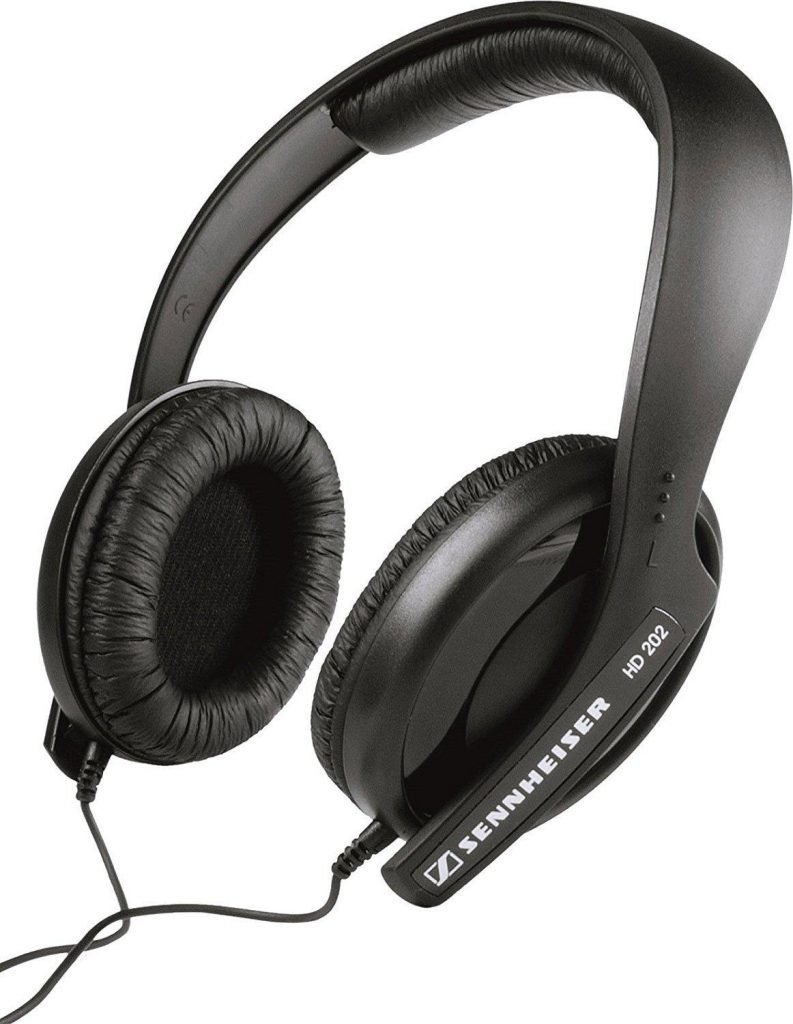 Sennheiser HD 202 II Over-Ear Headphones