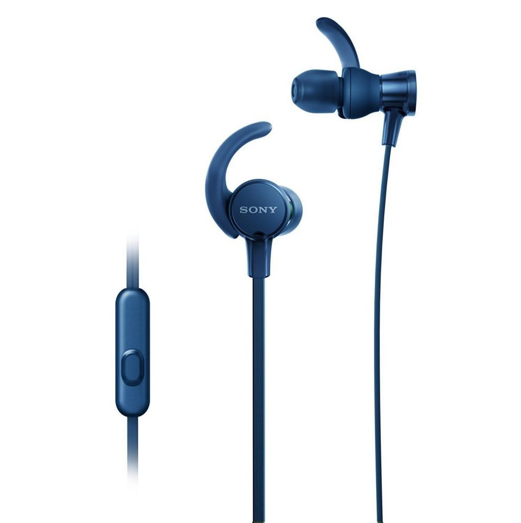 best earphones under 2500 - Sony MDR-XB510AS  Extra Bass Non Bluetooth Headset with Mic