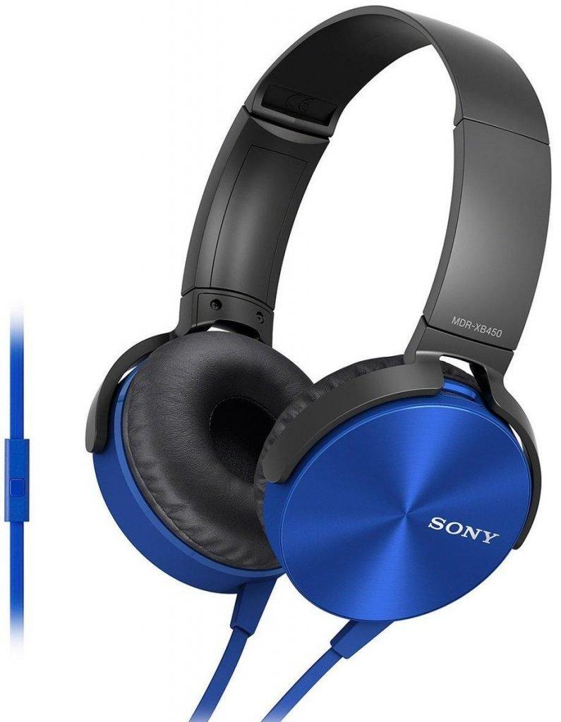 Sony MDR-XB450 AP On-Ear EXTRA BASS Headphones