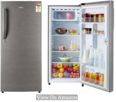 Best Single Door Refrigerator In India 2019, Haier 195L (HED-20FDS) 4-Star Single Door Refrigerator