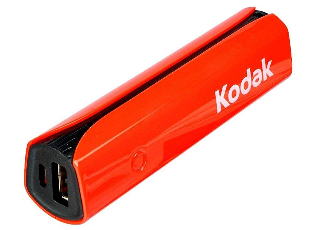 Kodak PBP03-R/2500mAh Li-Ion Power Bank from Kodak Bram