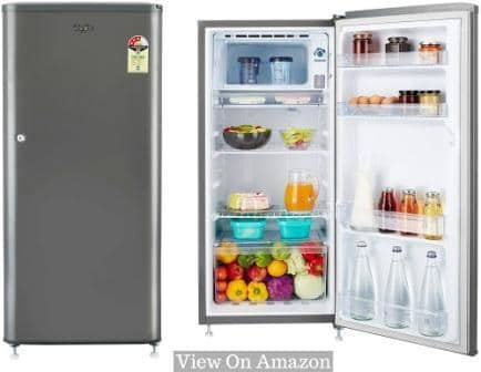 Best Single Door Refrigerator In India, Whirlpool 190 L 3 Star Direct Cool Single Door Refrigerator