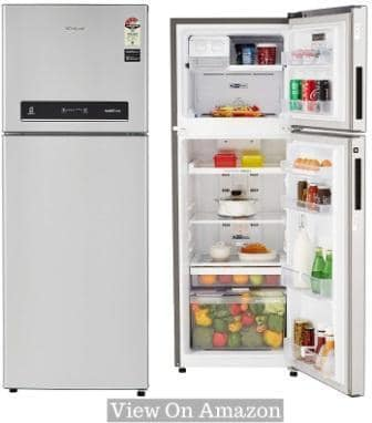 Best Refrigerator In India 2018, Whirlpool 265L (IF278-ELT) 4-Star Frost Free Double Door Refrigerator