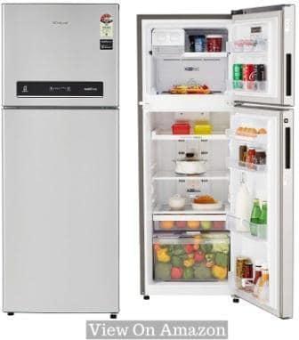 Best Refrigerator In India 2018, Whirlpool 265L (IF278-ELT) 4-Star Frost Free Double Door Refrigerator
