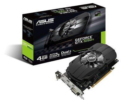 ASUS Phoenix GeForce GTX 1050 Ti 4GB GDDR5 Computer Graphics Card