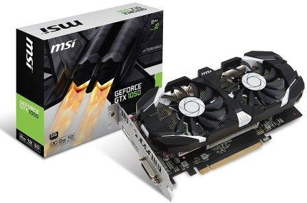 MSI Geforce GTX 1050 2GT OC 2GB GDDR5 PCI-E Graphics Card