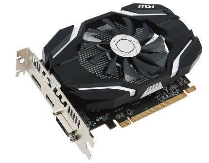MSI Radeon RX 460 2GB DDR5 OC Edition AMD GPU Card with PCI-E Graphics Card