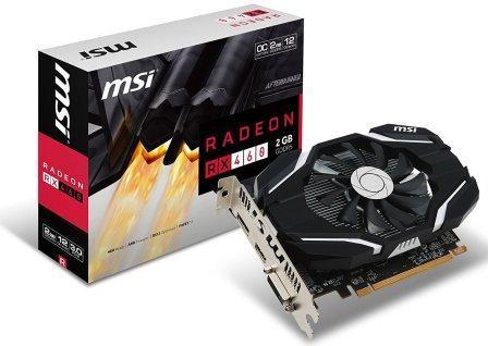 MSI Radeon RX 460 2GB DDR5 OC Edition GPU Card