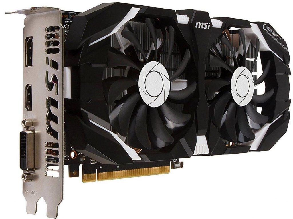 MSI Geforce GTX 1060 3GB GDDR5 OC PCI-E Graphics Card