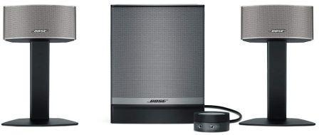 Best Entertainment Surround Sound Home Theatre System in India 2019, Bose Companion 50 Stereo Speaker System