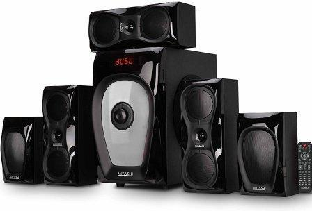 Mitashi HT 6125 BT 5.1 Home Theater System with Bluetooth Connectivity