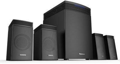 Best Home Theatre System Under 10k, Panasonic SC -HT40GW-K Speakers System