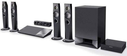 Best Home Theater System Under 50000, Sony BDV-N7200W 5.1 3D Blu-Ray Home Theatre System