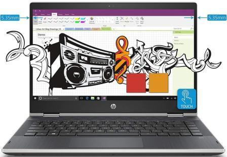 Best Laptop Under 40000 2021, HP Pavilion x360 14-Inch Full HD IPS Touchscreen Laptop