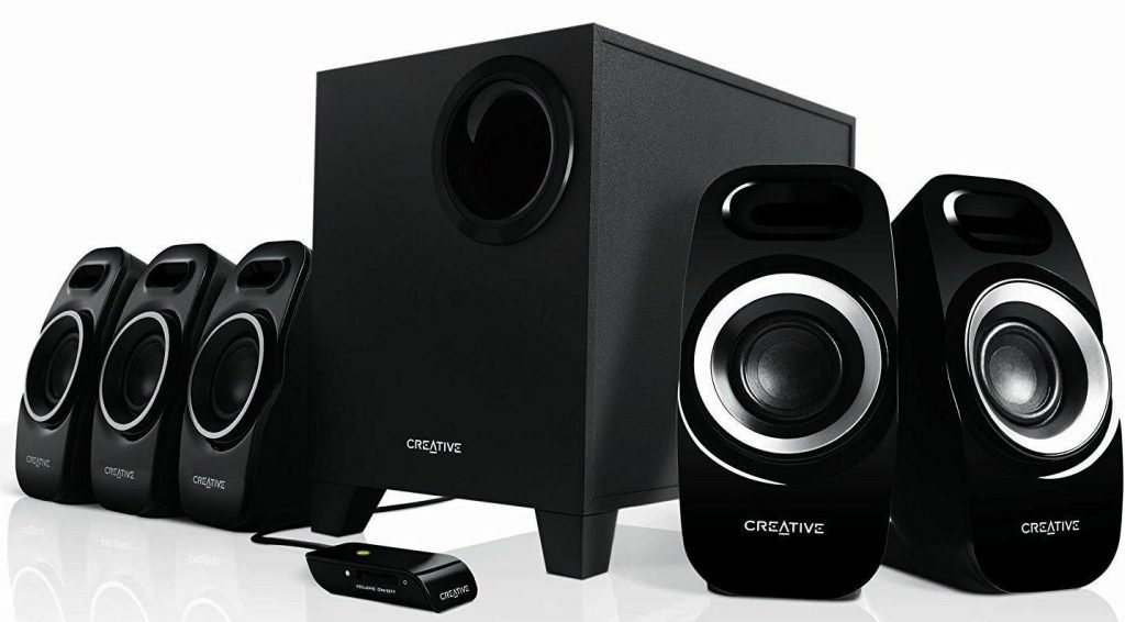 best speakers under 5000 rupees, Creative Inspire T-6300 5.1 Home Theater Speakers