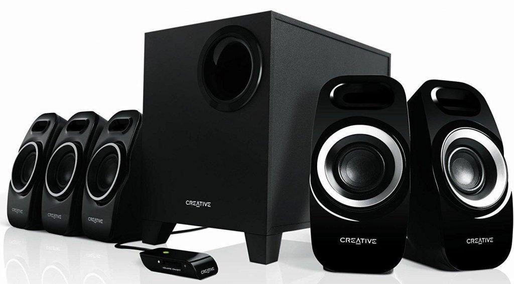 best speakers under 5000 rupees, Creative Inspire T-6300 5.1 Home Theater Speakers