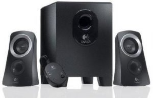 logitech 2.1 speakers Audio System