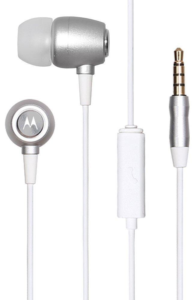 motorola inear headhone with mic