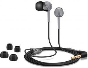 Best Earphones Under 600 With Mic, Sennheiser CX180 In-Ear Headphone