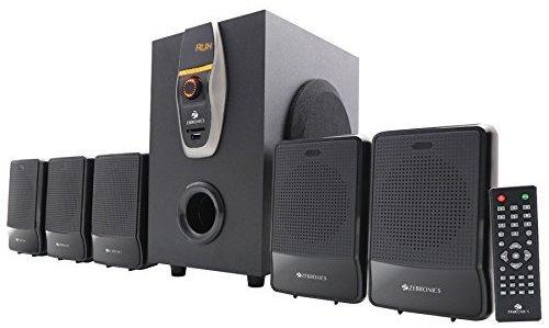 best 5.1 speakers under 5000, Zebronics ZEB-6860-BTRUCF 5.1 Audio System with Bluetooth