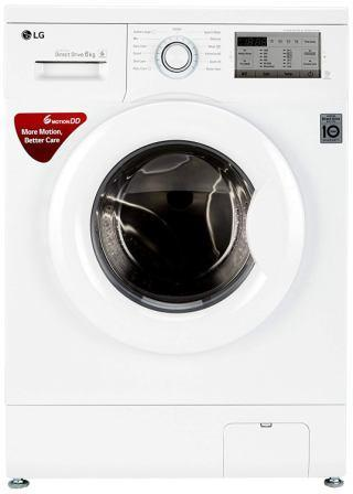 Best Fully Automatic Washing Machine in india 2020, LG -6 kg Inverter Fully Automatic Front Loading Washing Machine