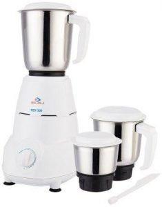 Bajaj Rex 500 Watt Mixer Grinder with 3 Jars