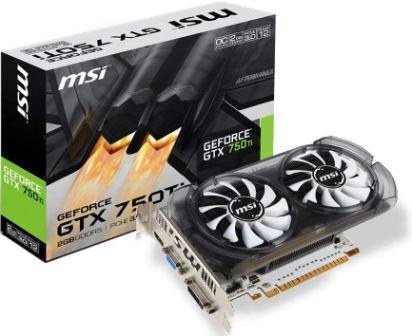 Best GPU Under 10000, MSIGeForce GTX 750 Ti2GB DDR5 Graphics Card
