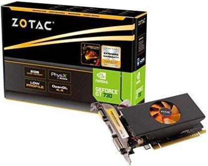 Zotac NVIDIA GT 730 PCI-e2GB DDR5 Graphics Card