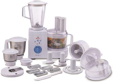 Bajaj MasterChef 3.0 600-W Food Processor with Mixer Grinder