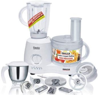 Inalsa Fiesta 650 W Food Processor with Mixer Grinder