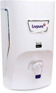 Best Ro Water Purifier, Livpure Glo 7-Litre RO+UV+Mineralizer Water Purifier