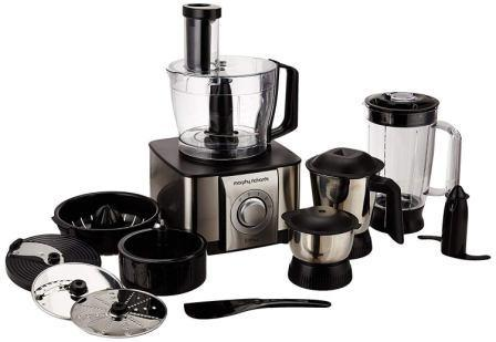 Best Food Processor In India 2018, Morphy Richards Icon DLX 1000 W Food Processor with Mixer Grinder