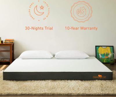 Sleepycat 6-Inch Gel Memory Foam Mattress