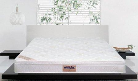 Springtek Eurotop Ortho Plus 6-inch Re-bonded Memory Foam Mattress for Couple