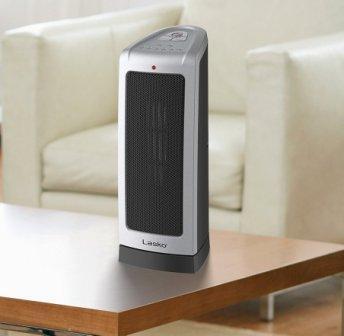 Lasko 5309 Oscillating Ceramic 1500 Watt room heater (Producy By Lasko)