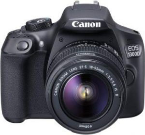 Canon EOS 1300D with 18-55 mm Lens & 55-250mm Lens