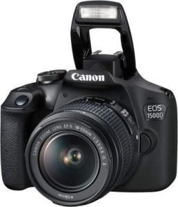 Best DSLR Camera Under 30000 in India 2019, Canon EOS 1500D 24.1MP DSLR Camera with EF-S 18-55mm Lens
