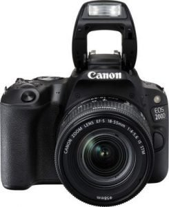 Canon EOS 200D 18-55 mm Lens the Best DSLR Camera Under 40000 in India 2021