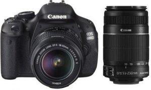 Canon EOS 600D 18 Megapixel DSLR Camera