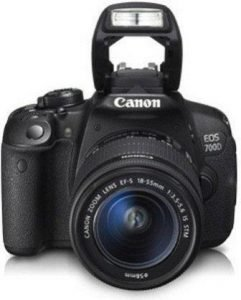 Canon EOS 700D with 18-55 mm Lens + 55-250 mm Lens