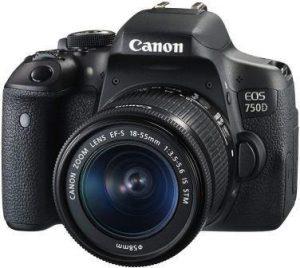 Best DSLR Camera under 50000, Canon EOS 750D 24.2 MP DSLR Camera