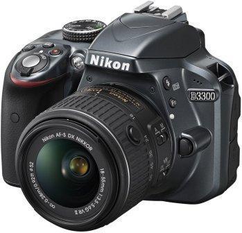Nikon D3300 24.2MP DSLR Camera with Nikon DX 18-55mm Lens