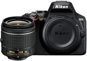 Best Camera Under 30000, Nikon D3500 24.2MP DSLR Camera with Nikon DX 18-55mm Lens