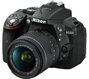 Nikon D5300 with 18-55 mm Lens