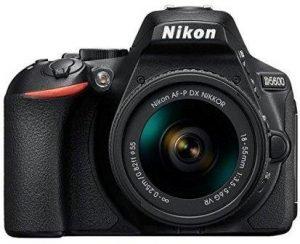 Best DSLR Camera under 40000, Nikon D5600 withNikkor DX 18-55 mm Lens