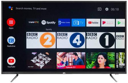 BPL 49-Inch 4k Ultra HD Official Android LED Smart TV T49AU26A