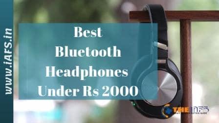 Best Bluetooth Headphones under 2000