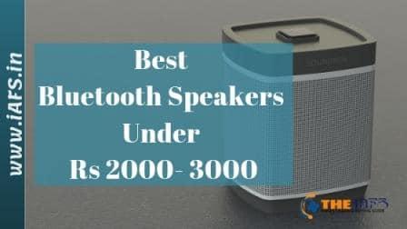 Best Bluetooth Speakers Under 2000, Best Bluetooth Speakers Under 3000