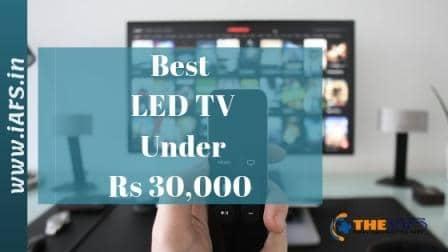 Best LED TV Under 30000